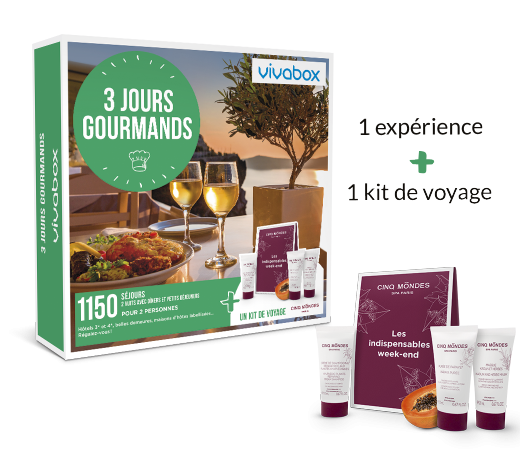 Zoom 3 jours gourmands