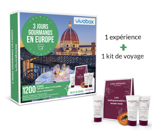 Zoom 3 jours gourmands en Europe